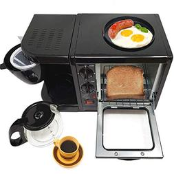 3 in 1 Breakfast Maker Station Hub 500W 5L WithRemovable Cru