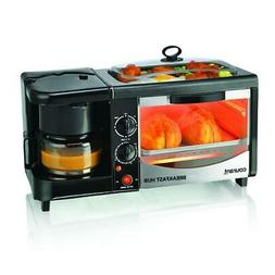 Courant 3-in-1 Multifunction Breakfast Hub , Black