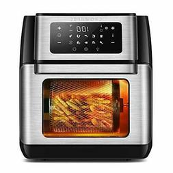10 IN 1 Air Fryer And Toaster Oven Combo Convection Roaster