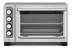 """12"""" Compact Convection Oven Non-Stick Interior Cooker Stainl"""