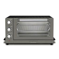 Cuisinart 1500 W 6-Slice Black Stainless Steel Convection To