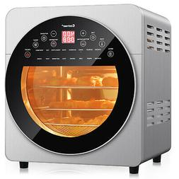 16-in-1 Air Fryer Oven 15.5 QT Toaster Oven Dehydrator Rotis