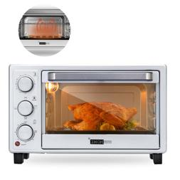 "VIVOHOME 16L 6 Slice Toaster Oven Convection Broiler 10"" Piz"