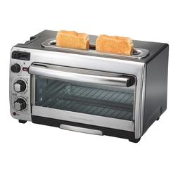 Hamilton Beach 2-in-1 Countertop Oven and Toaster Combinatio