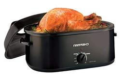 Chefman 20 Quart Roaster Oven Cooker w/Window Viewing Lid Pe