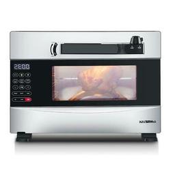GoWISE USA 27-Quart Electric Programmable Pressure Oven w/Ro