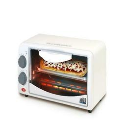 2Slice Toaster Oven with Broiler & Timer for Back to School