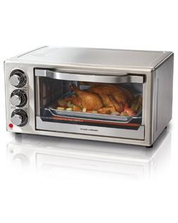 Hamilton Beach 31511 Stainless Steel 6-Slice Toaster Oven...