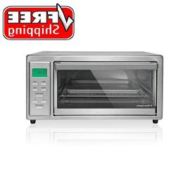 Kenmore 4 Slice Digital Toaster Oven Stainless Steel Broil B