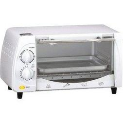 """Brentwood TS-345W Toaster Oven, 1"""", White"""