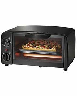 Proctor Silex 4 Slice Toaster Oven Black / Home Kitchen Cook