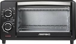 4 slice toaster oven black