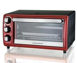 Hamilton Beach 4 Slice Toaster Oven Pizza Bagel Warmer Cookw