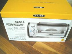 BELLA 4-SLICE TOASTER OVEN -BRAND NEW