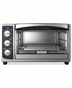 6-Slice Convection Countertop Toaster Oven Stainless Steel
