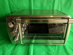 Oster 6 slice Convection Toaster Oven Stainless Steel Turbo