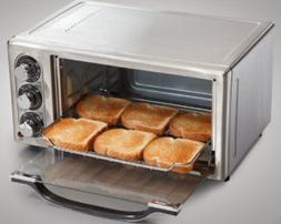 6-Slice Stainless Oven Toaster, Kitchen Cooking Breakfast Di