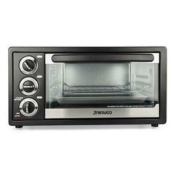 Courant 6 Slice Toaster Oven, with Broiler, Countertop Conve