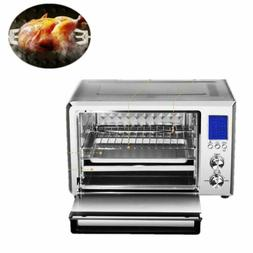 6 Slice Toaster Oven Broiler Toast Extra Large Capacity Stai