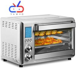 6-Slice Toaster Oven Convection Toaster Oven with LCD displa