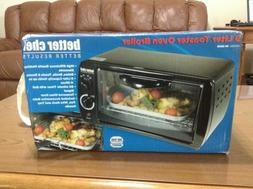 Better Chef 9 Liter Toaster Oven and Broiler