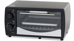 Avanti Products PO3A1B Toaster Oven44; Stainless Steel & Bla