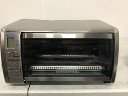 New BLACK+DECKER Countertop Convection Toaster Oven - Stainl