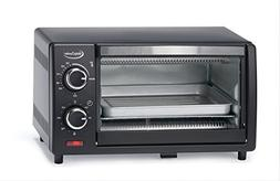 Betty Crocker BC-1664CB Toaster Oven, 0.9 L, Black