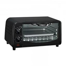 Courant TO-942K 4 Slice Countertop Toaster Oven with Bake an