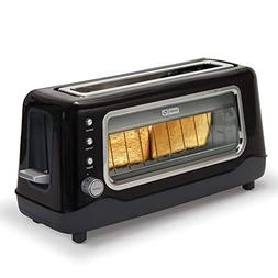 Dash Clear View Toaster: Extra Wide Slot Toaster with Stainl