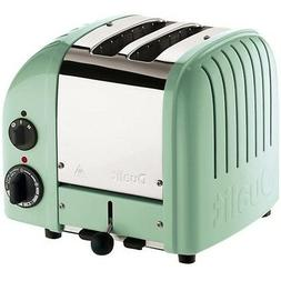 Dualit - Newgen 2-slice Extra-wide-slot Toaster - Mint Green