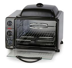 Elite Cuisine ERO-2008S Countertop Toaster Oven with Top Gri
