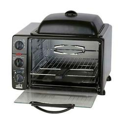 Elite Cuisine ERO-2008SZ Convection Toaster Oven with Top Gr