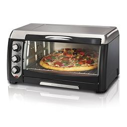 Hamilton Beach - Convection Toaster/pizza Oven - Black/stain