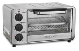 Waring Pro WTO450 Professional Toaster Oven, Brushed Stainle