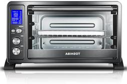 Toshiba AC25CEW-BS Digital Toaster Oven with Convection Cook