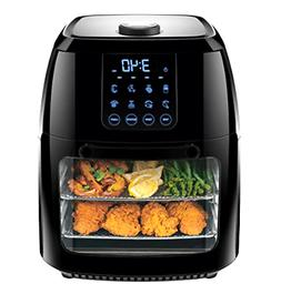 Chefman Digital Air Fryer+ Rotisserie, Dehydrator, Convectio