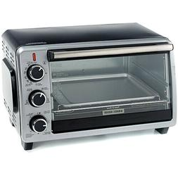 Black Decker 6 Slice Convection Toaster Oven- Free Shiping