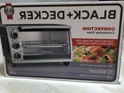 BLACK & DECKER 6-Slice Countertop Pizza Toaster Convection O