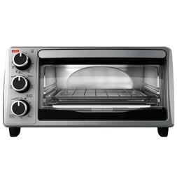 Black And Decker Electric Kitchen Broil Toaster Oven 4 Slice