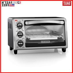 Black & Decker To1313sbd 4-Slice Toaster Oven Baking Broilin