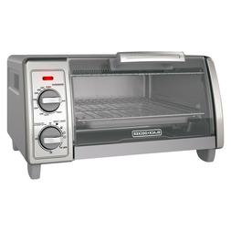 BLACK+DECKER 4 Slice Toaster Oven - Stainless Steel TO1700SG