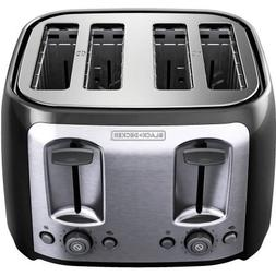 Black & Decker 4-Slice Toaster, Bagel and frozen functions a