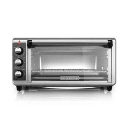 BLACK+DECKER 8-Slices Stainless Steel Convection Toaster Ove