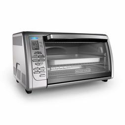 Black Decker Extra Large XL Stainless Steel Countertop Conve