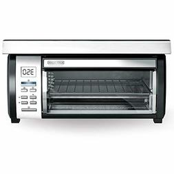 BLACK+DECKER Spacemaker Under-Counter Toaster Oven, Black/St