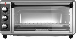BLACK+DECKER TO3250XSB 8-Slice Extra Wide Convection Counter