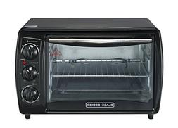 Black & Decker TRO2000R 19 L Toaster Oven with Rotisserie ,