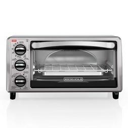 BRAND NEW BLACK+DECKER TO1313SBD 4-Slice Toaster Oven, Black