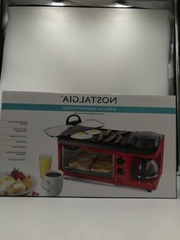 Breakfast Station Coffee Maker Toaster Griddle Oven Electric